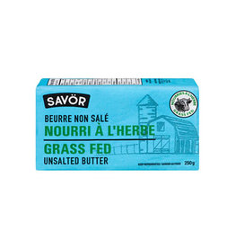 Savor Savor - Grass Fed Unsalted Butter (250g)