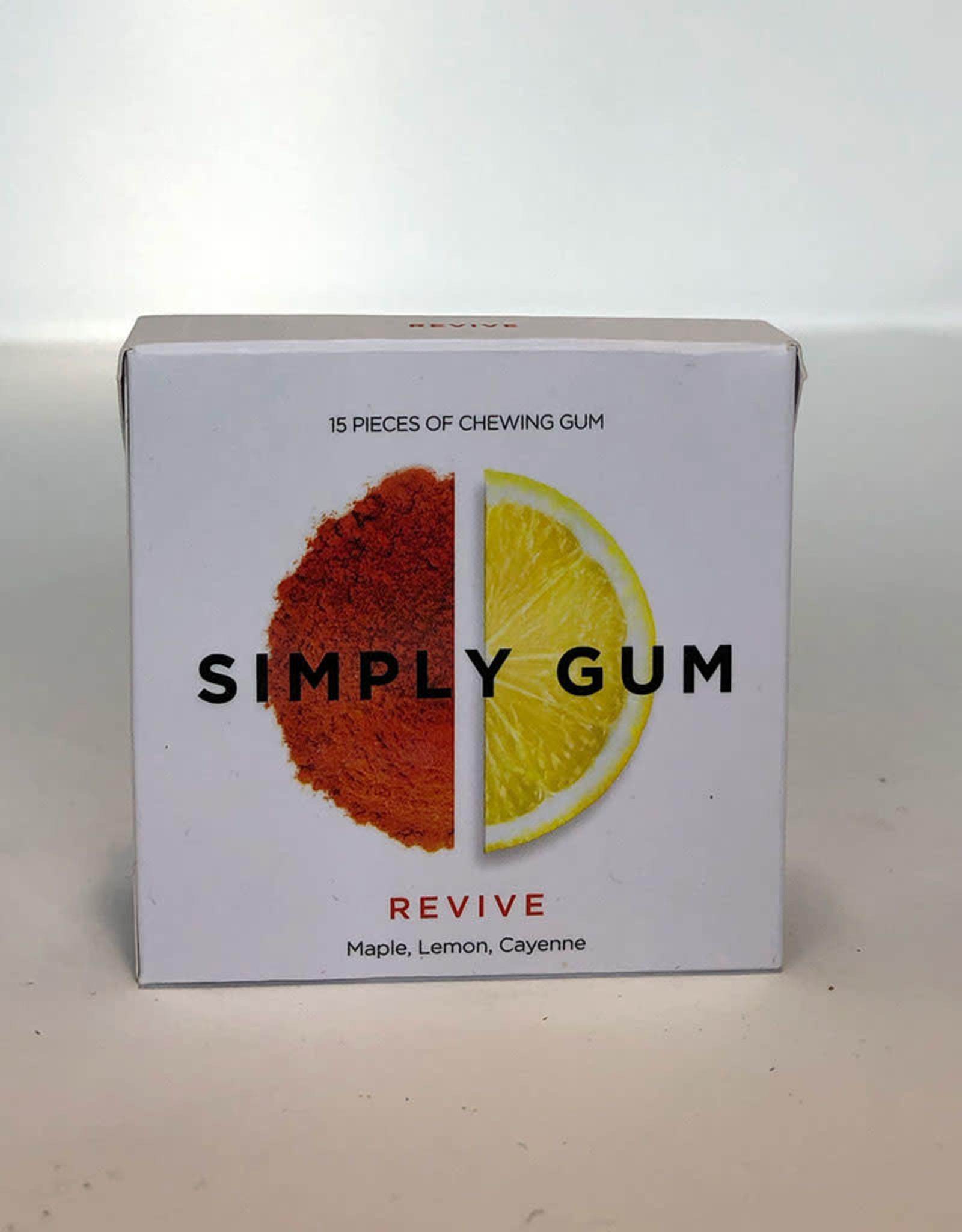Simply Gum Simply Gum - Revive, Maple, Lemon, Cayenne