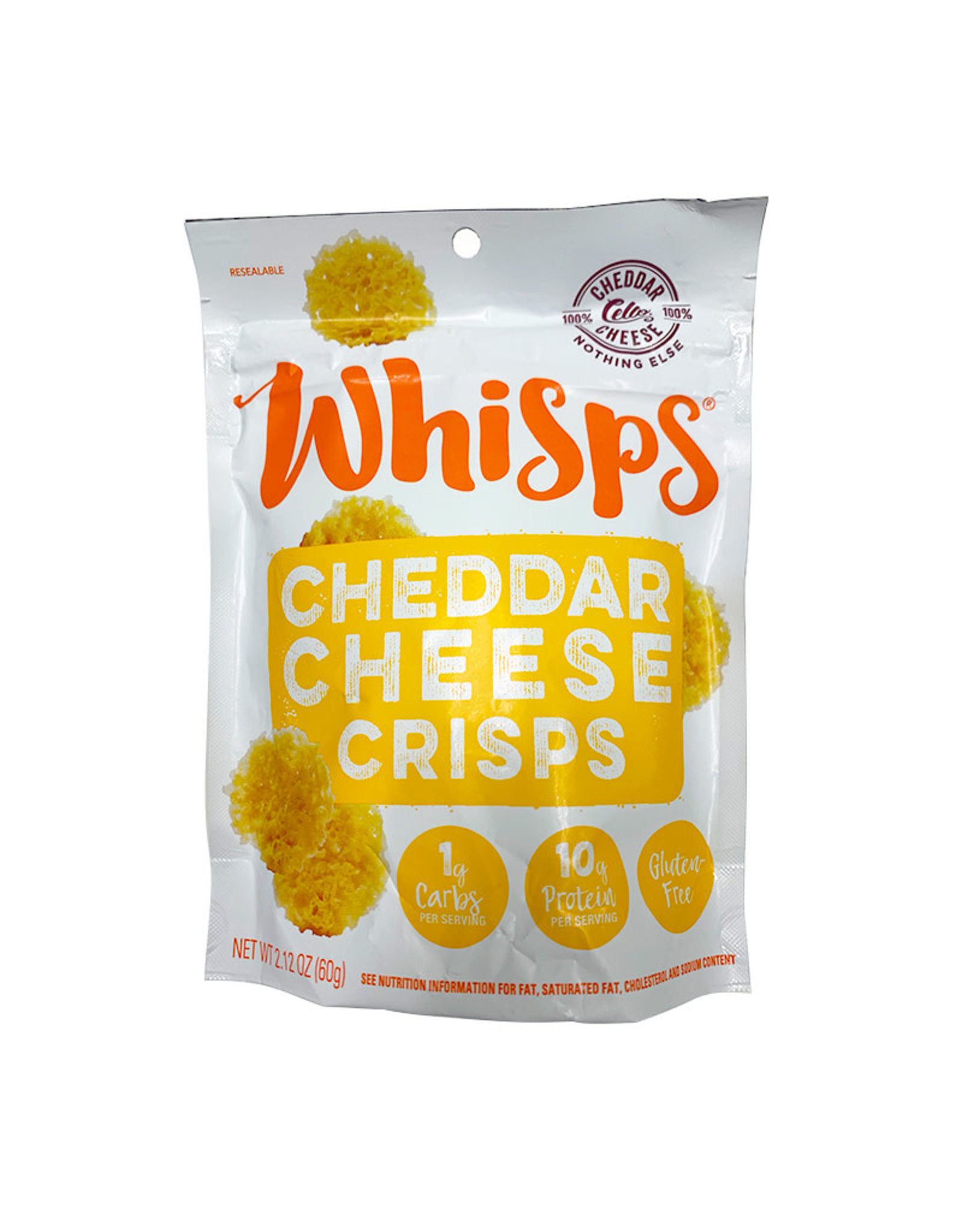 Whisps WHISPS - Cheddar Cheese Crisps (60g)