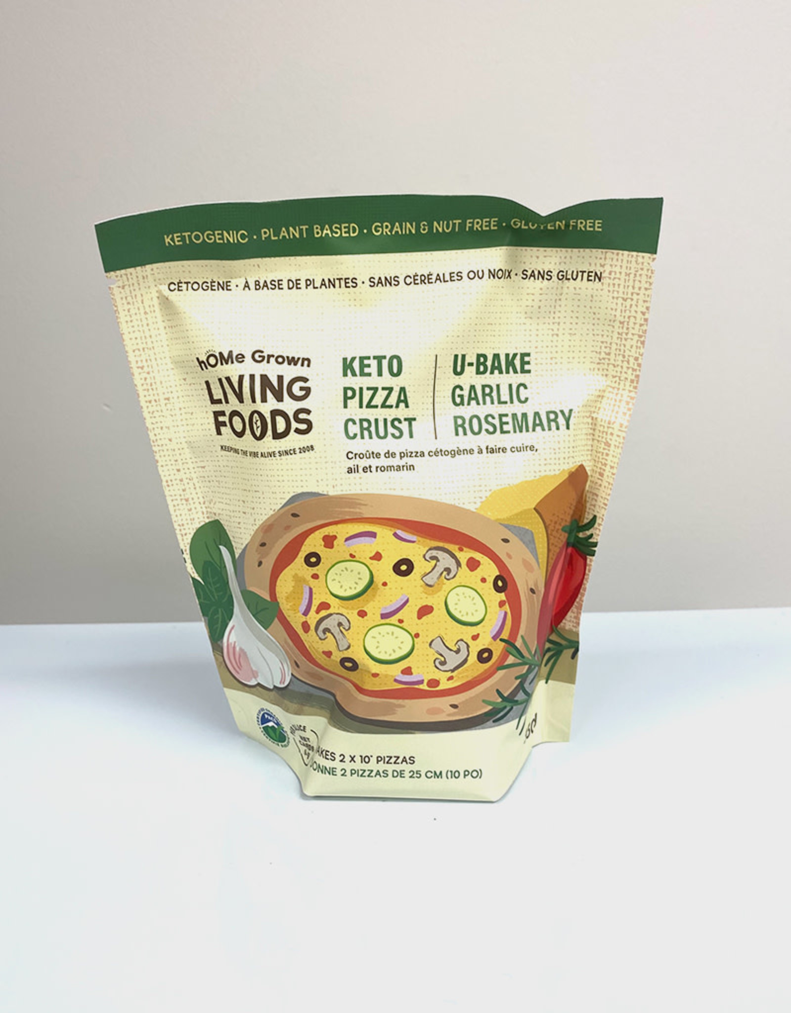 Home Grown Foods Home Grown Foods - Keto Garlic Pizza Crust (330g)