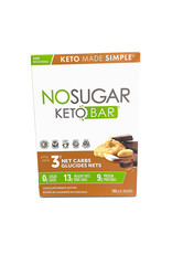 VEGANPURE Veganpure - No Sugar, Keto, Chocolate Peanut Butter Bars (4 Pack)