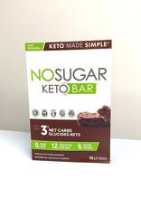 VEGANPURE Veganpure - No Sugar, Keto Chocolate Fudge Bars  (4 Pack)