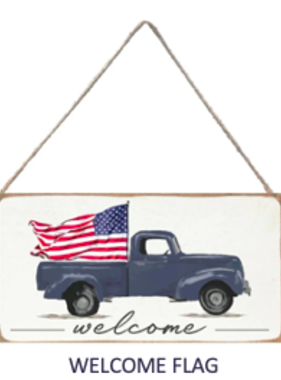 Signs of Hope - Welcome Flag Truck