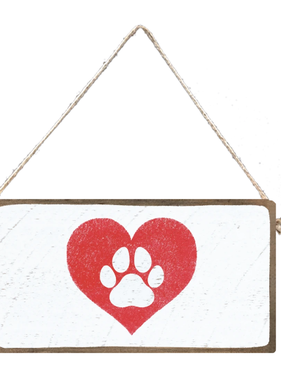 Signs of Hope - Paw Heart