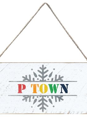 Signs of Hope - PTOWN Rainbow Snowflake