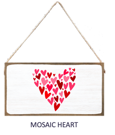 Signs of Hope - Mosaic Heart