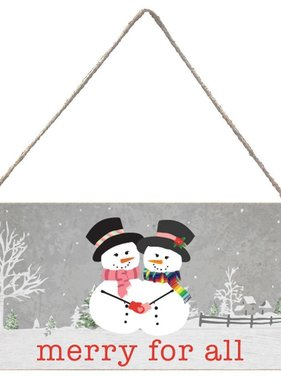 Signs of Hope - Merry for All Snowwomen