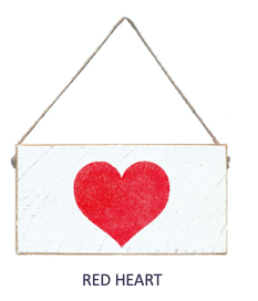 Signs of Hope - Red Heart