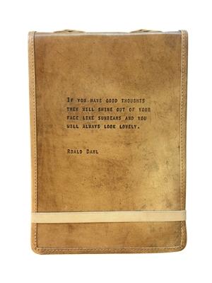"Leather Journal - Roald Dahl 7"" x 9.75"""