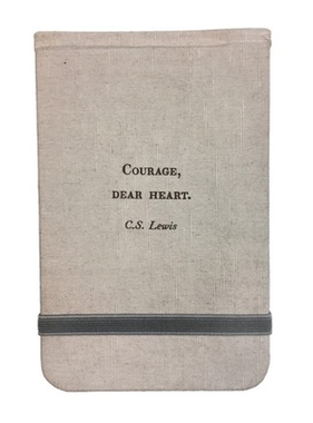 "Fabric Notebook - C.S. Lewis 3.5"" x 5.5"""