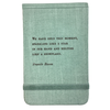 "Fabric Notebook - Francis Bacon 3.5"" x 5.5"""