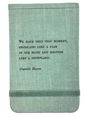 """Fabric Notebook - Francis Bacon 3.5"""" x 5.5"""""""