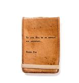 "Leather Journal Mini - Peter Pan 4"" x 6"""