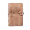 "Blush Leather Journal - Audrey Hepburn 7"" x 9.75"""