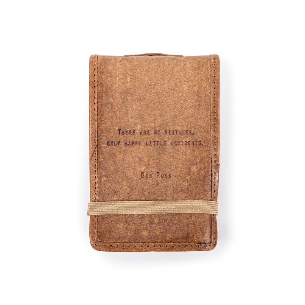 "Leather Journal Mini - Bob Ross 4"" x 6"""