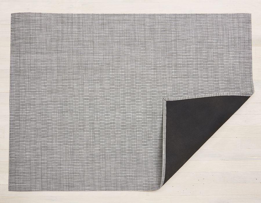 """Chilewich Thatch Floormat - Dove 46"""" x 72"""""""
