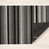 """Chilewich Even Stripe Shag Doormat - Mineral 18"""" x 28"""""""