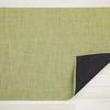 "Chilewich Mini Basketweave Floormat - Dill 46"" x 72"""