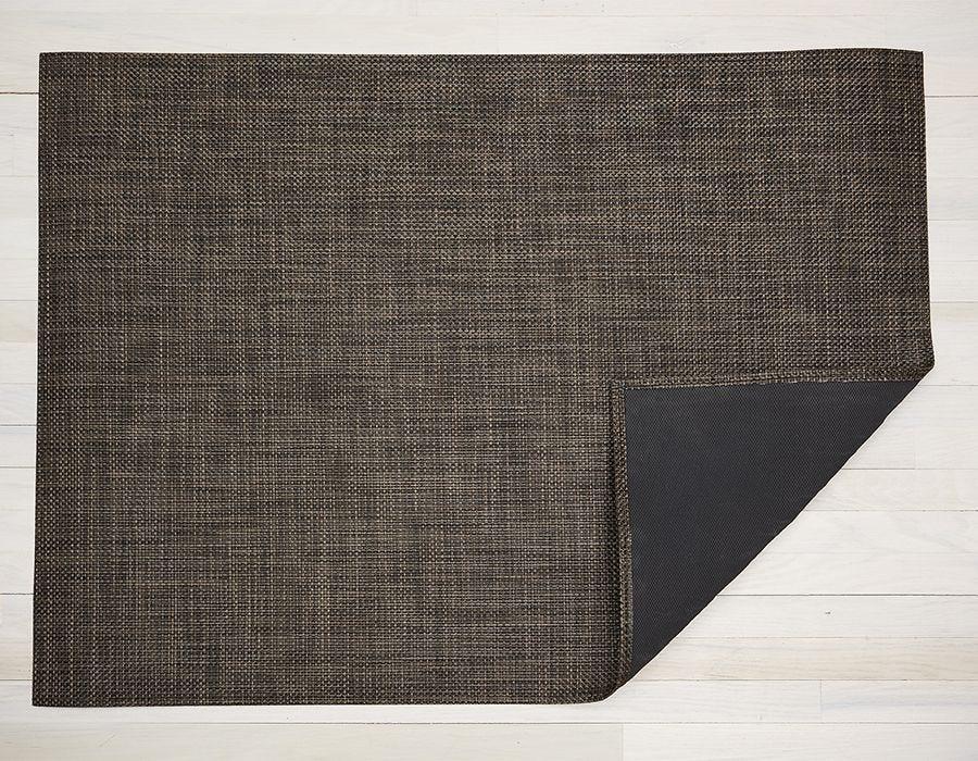 "Chilewich Basketweave Floormat - Earth 46"" x 72"""