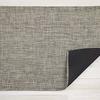 "Chilewich Mini Basketweave Floormat - Pistachio 35"" x 48"""