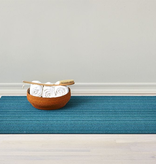 "Chilewich Skinny Stripe Shag Big Mat - Turquoise 36"" x 60"""