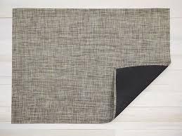 "Chilewich Mini Basketweave Floormat - Pistachio Runner 26"" x 72"""