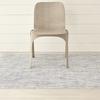 """Chilewich Mosaic Floormat - Blue 72"""" x 106"""""""