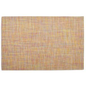 "Chilewich Mini Basketweave Floormat - Confetti Runner 26"" x 72"""