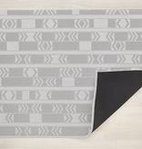 "Chilewich Scout Floormat - Graphite 46"" x 72"""