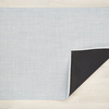 "Chilewich Mini Basketweave Floormat - Sky 46"" x 72"""