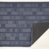 "Chilewich Scout Floormat - Midnight 46"" x 72"""