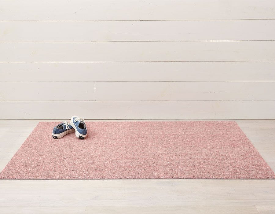"Chilewich Heathered Shag Big Mat- Blush 36"" x 60"""