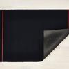 """Chilewich Simple Stripe Shag Doormat Runner - Navy 26"""" x 72"""""""