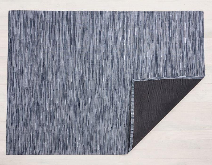 "Chilewich Bamboo Floormat - Rain 35"" x 48"""