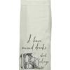 Flour Sack Kitch Towel - Mixed Drinks (D)