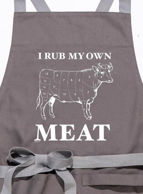 Aprons - Rub My Own Meat