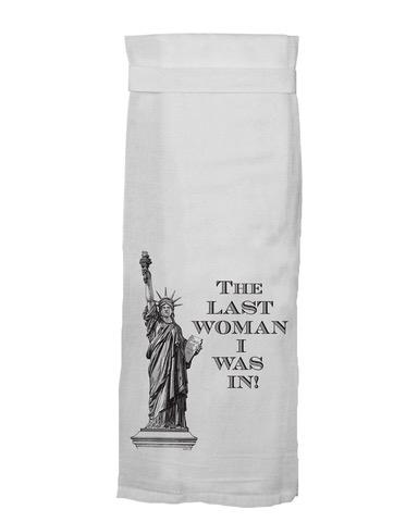Flour Sack Kitch Towel - The Last Woman (D)