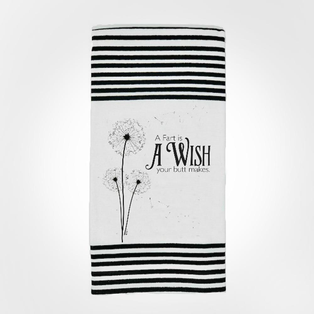 Butt Wish Twisted Terry Towel