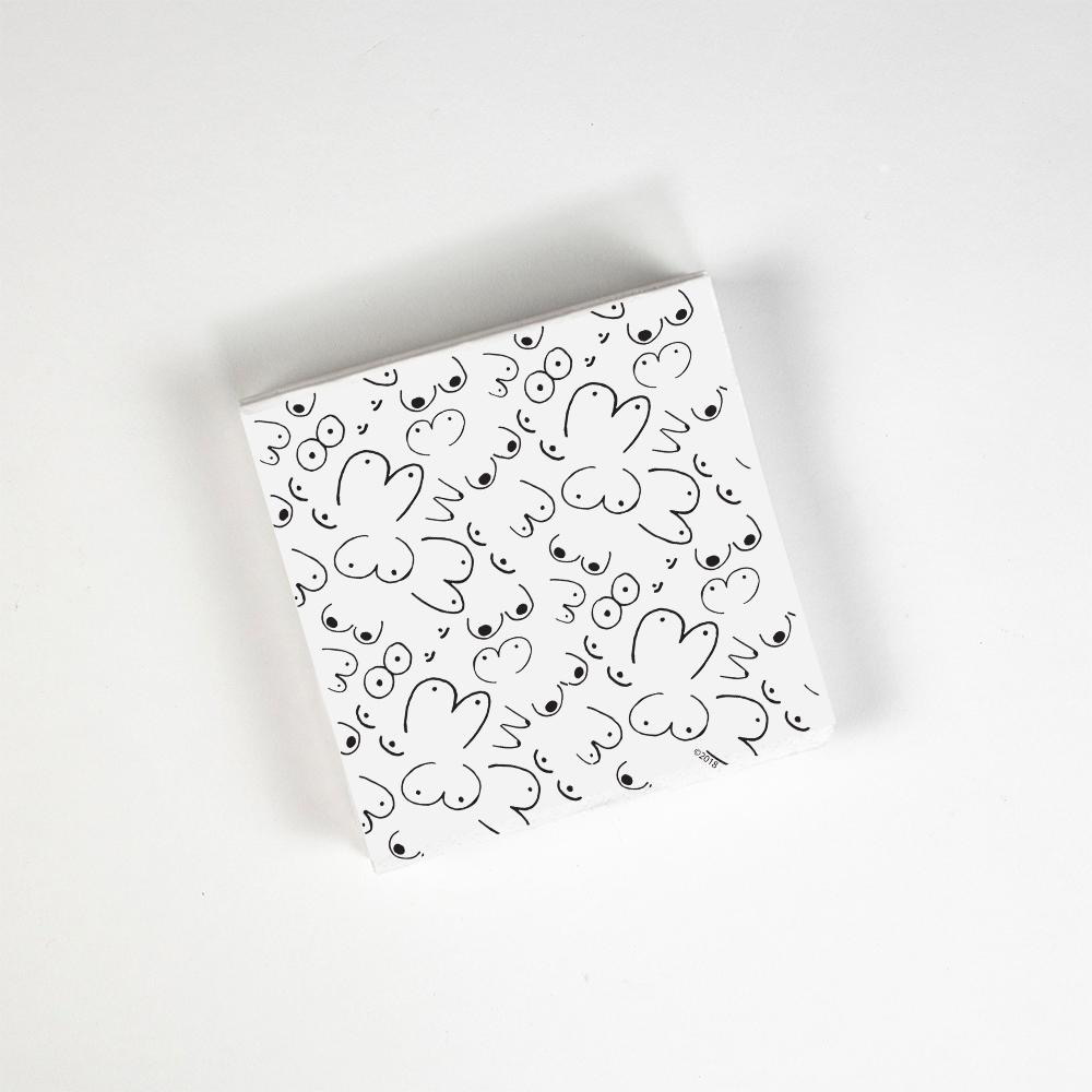 Cocktail Napkins - Boobs 20 Ct/3 Ply