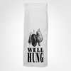 Flour Sack Kitch Towel - Well Hung