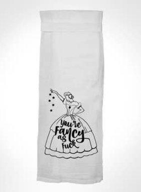 Flour Sack Kitch Towel - Fancy As F*ck
