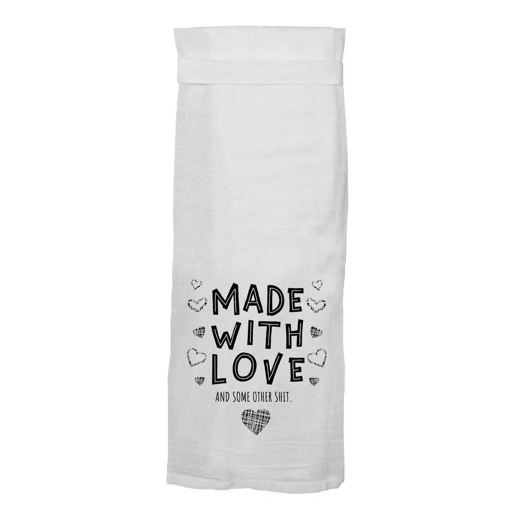 Flour Sack Kitch Towel - Made With Love
