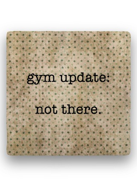 gym update Coaster - Natural Stone