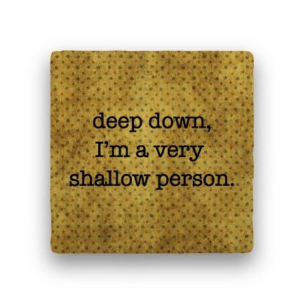 deep down Coaster - Natural Stone