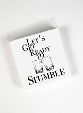 Cocktail Napkins - Ready To Stumble 20 Ct/3 Ply