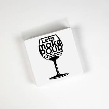 Cocktail Napkins - Pour Choices 20 Ct/3 Ply