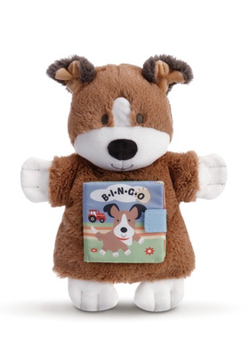 B-I-N-G-O Puppy Puppet Book
