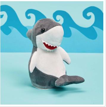 Shark Buddy Plush with Speak - Repeat - Body Movement Functions