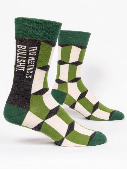 Meeting Bullshit Men's Socks