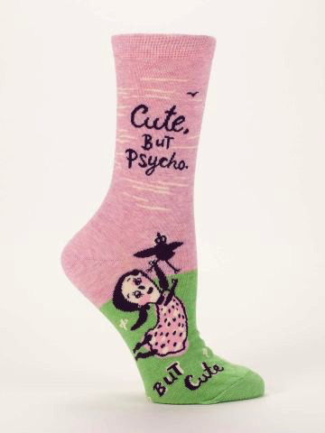 Cute But Psycho Women's Socks